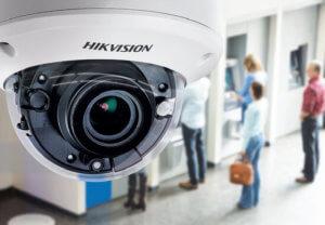 מצלמות אבטחה כיפה IP רשת תוצרת Hikvision