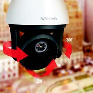 מצלמות אבטחה רשת IP ממונעות PTZ תוצרת HIKVISION
