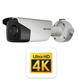 מצלמות אבטחה צינור 12 מגה פיקסל= 4K רשת IP תוצרת HIKVISION