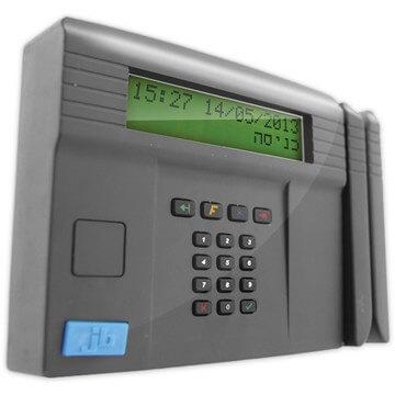 שעון נוכחות כרטיס עובד מגנטי