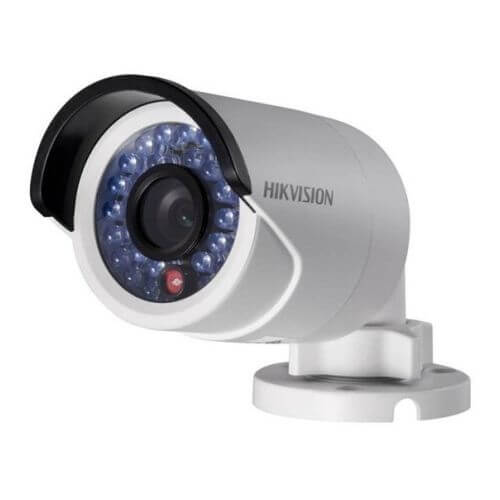מצלמות אבטחה צינור 1.3 מגה פיקסל רשת IP תוצרת HIKVISION