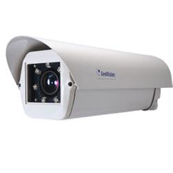 מצלמת LPR ייעודית מתאימה לזיהוי במרחק עד 10 מטר