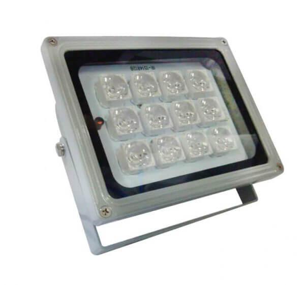 פנס אינפרא למצלמות אבטחה (12 יחידות ARRAY LED)