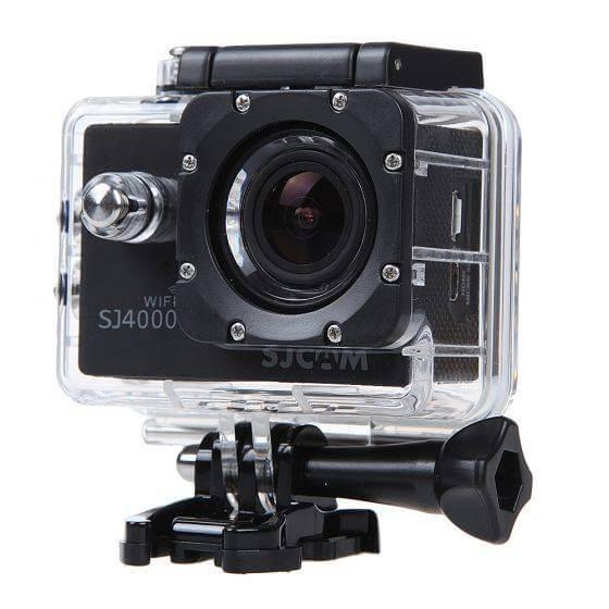 מצלמת אקסטרים SJ4000 WI-FI בצבע שחור