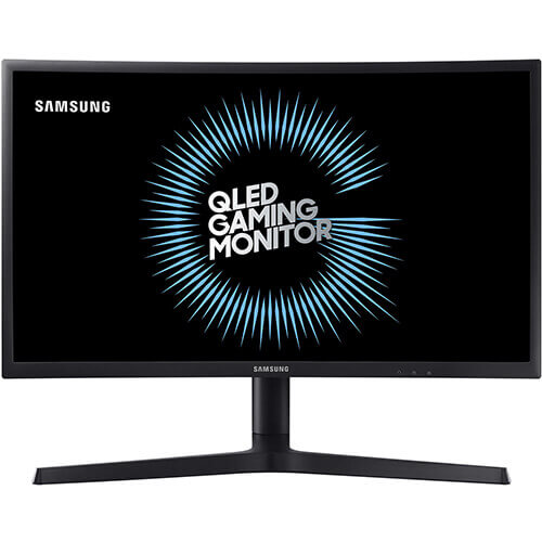 "מסך מחשב גיימינג קעור ""23.5 Samsung LED Curved VA C24FG73FQM"