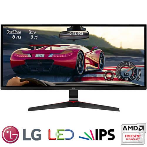 """מסך מחשב גיימינג """"34 LG LED IPS 34UM69G-B"""