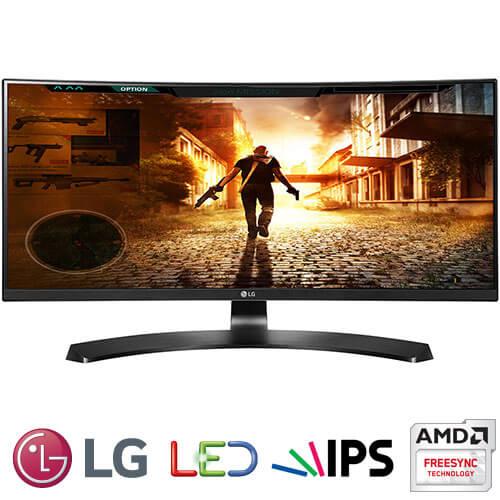 """מסך מחשב קעור """"29 LG LED IPS 29UC88-W 21:9 UltraWide"""