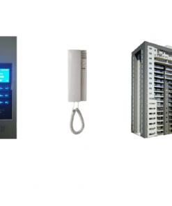 אינטרקום אודיו דיגיטאלי לבניינים עם חיבור לקו טלפון
