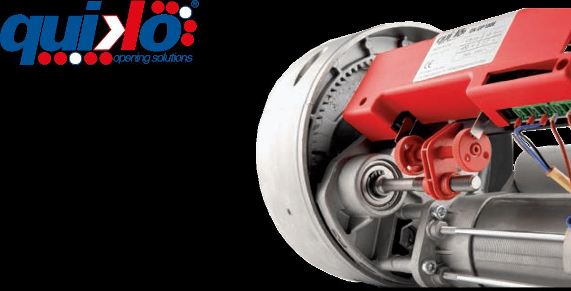האופנה האופנתית מנוע חשמלי לתריס גלילה QK-OP180E 230VAC MAX 180KG - ZBM - זד. בי JO-13